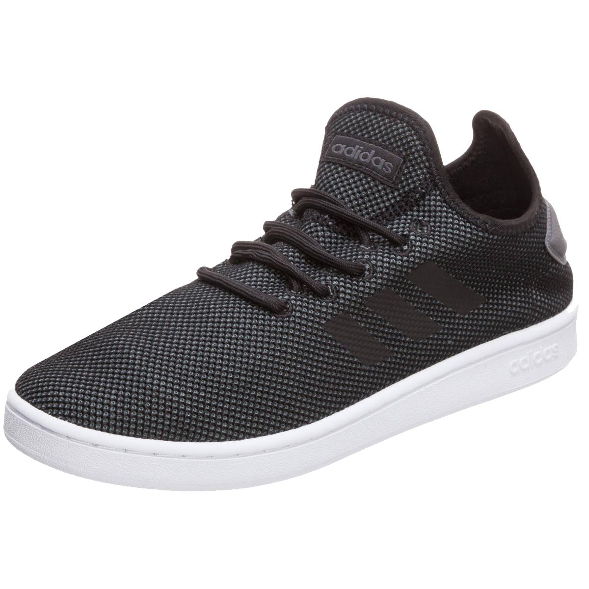 アディダス COURTADAPT2.0 M (F36418) メンズ スニーカー : ブラック×グレー adidas