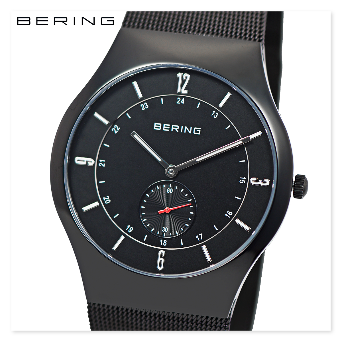 【全品送料無料】 BERING ベーリング 11940-222 メンズ レディース ユニセックス スリム 時計 腕時計 プレゼント 贈り物 ギフト 彼氏 フォーマル カジュアル ペアウォッチ 北欧[あす楽]