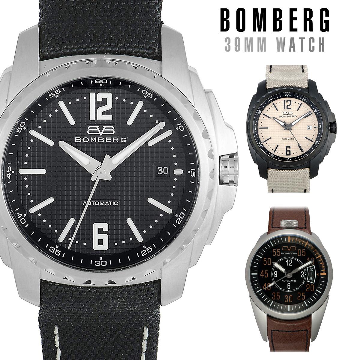 【全品送料無料】 ボンバーグ BOMBERG 39 mm メンズ 時計 腕時計 自動巻き時計