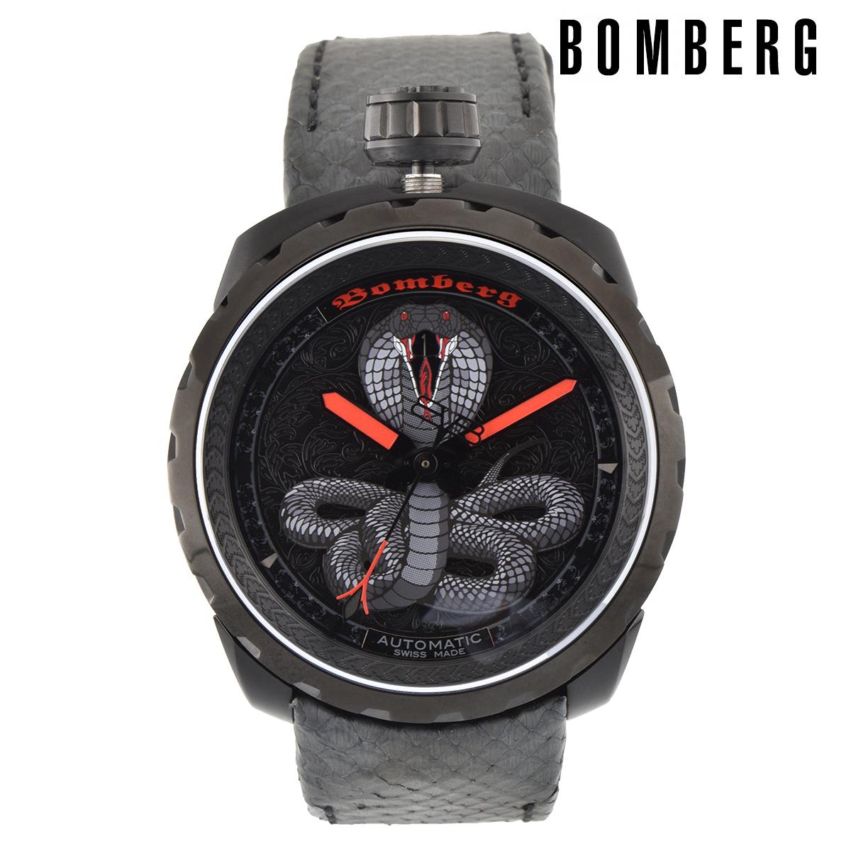 【全品送料無料】 ボンバーグ BOMBERG ボルト68 BOLT-68 bs45apba-043-1-3 メンズ 時計 腕時計 自動巻き オートマチック