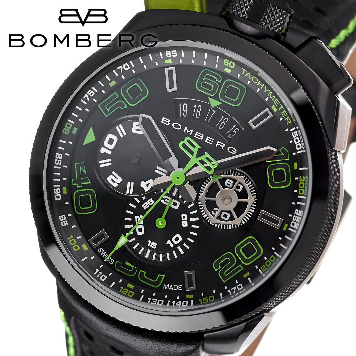 ボンバーグ BOMBERG ボルト68 BOLT-68 BS45CHPBA.013.3 メンズ 時計 腕時計 クオーツ クロノグラフ