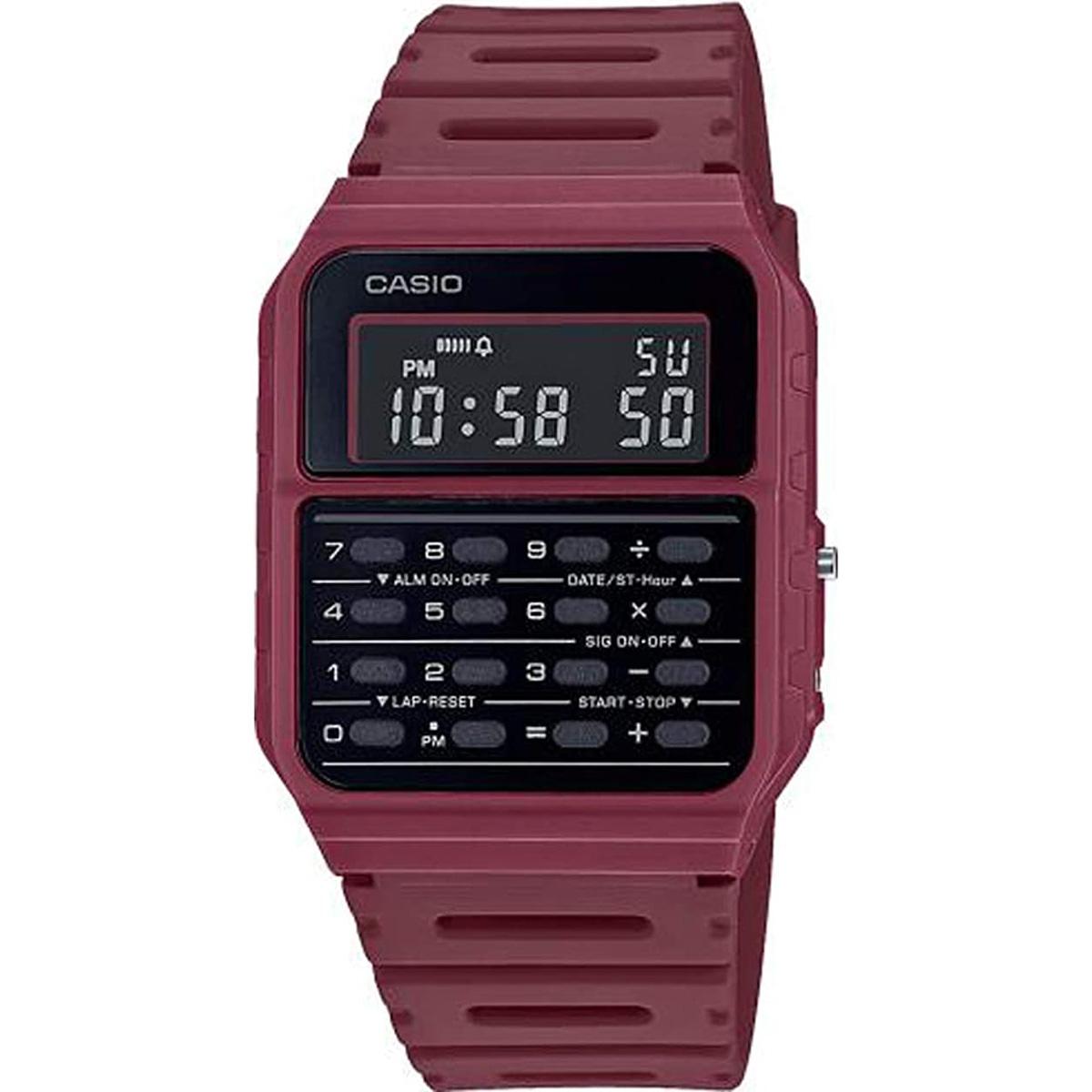 カシオ 海外正規品 送料無料 あす楽 今ダケ送料無料 チプカシ CASIO スタンダード 時計 腕時計 カレンダーチープカシオ 通信販売 CA-53WF-1B デジタル クオーツ メンズ