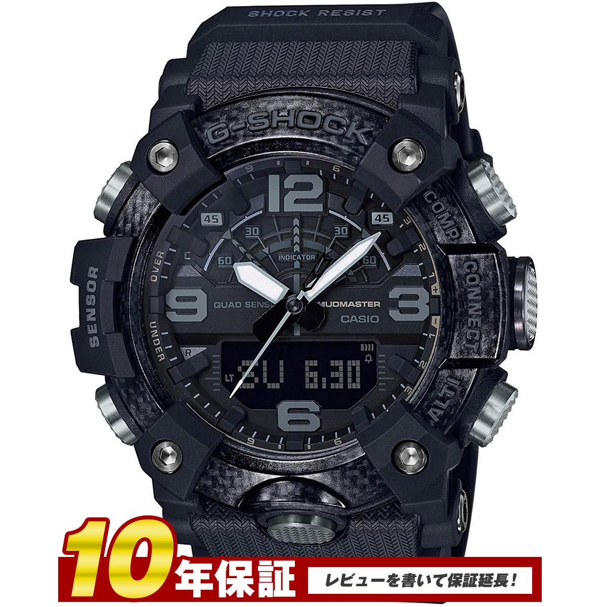 【全品送料無料】 G-SHOCK カシオ Gショック マッドマスター CASIO 腕時計 メンズ MASTER OF G Black Out GG-B100-1B