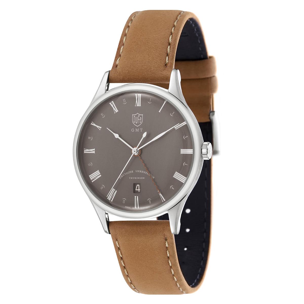 DUFA ドゥッファ DF-9006-0B WEIMAR GMT 時計 腕時計 メンズ レディース 男性 女性 ネイビー おしゃれ プレゼント 贈り物 ギフト ドイツ バウハウス[あす楽]