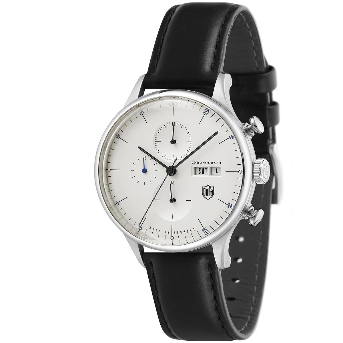 【全品送料無料】 DUFA ドゥッファ DF-9021-06 VAN DER ROHE_(New Chrono) メンズ 時計 腕時計 プレゼント 贈り物 ギフト ドイツ バウハウス[あす楽]