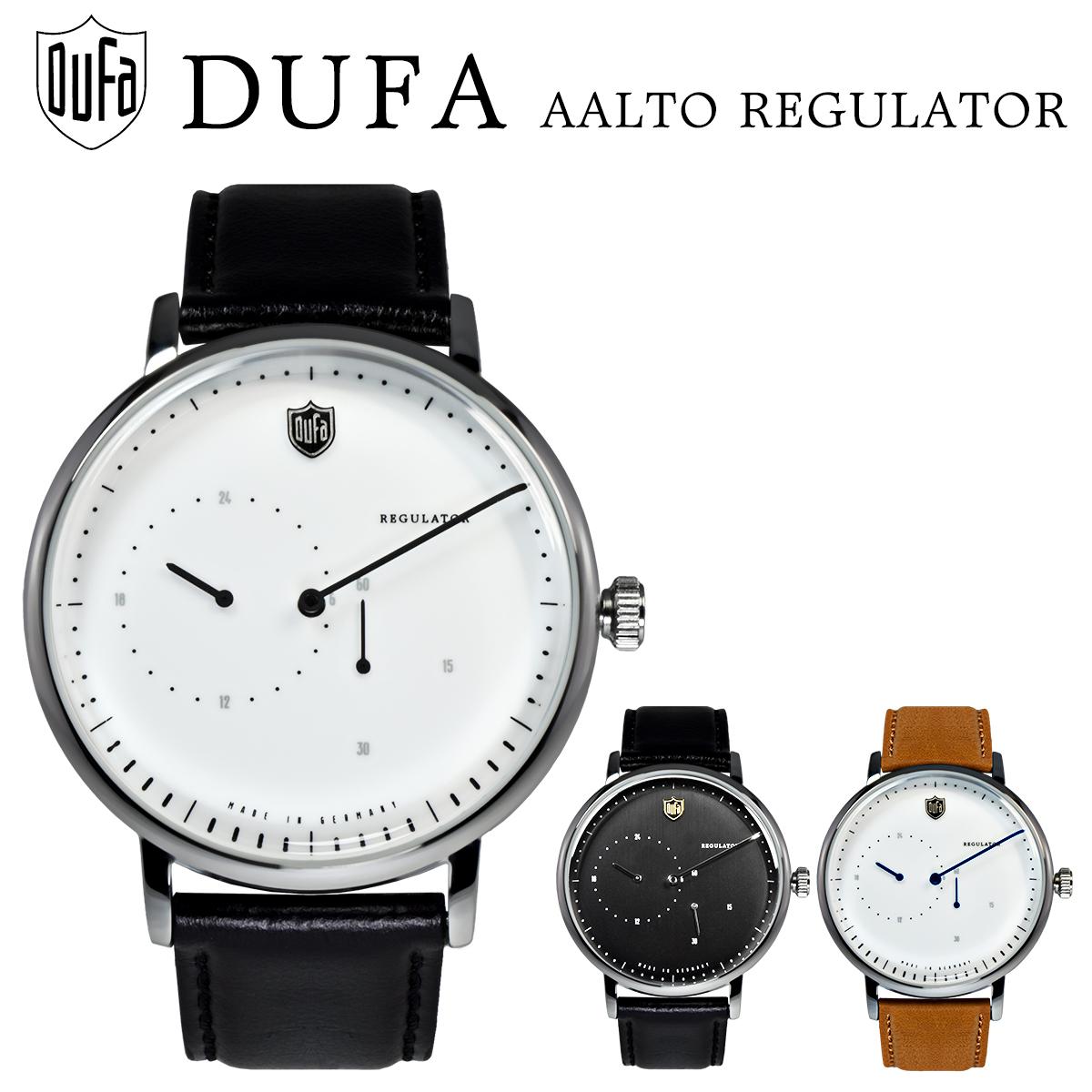 【全品送料無料】 DUFA ドゥッファ AALTO REGULATOR アールト レギュレーター 自動巻き オートマチック DF-9017-01 DF-9017-03 DF-9017-05 時計 腕時計 メンズ レディース 男性 女性 ホワイト ブラック