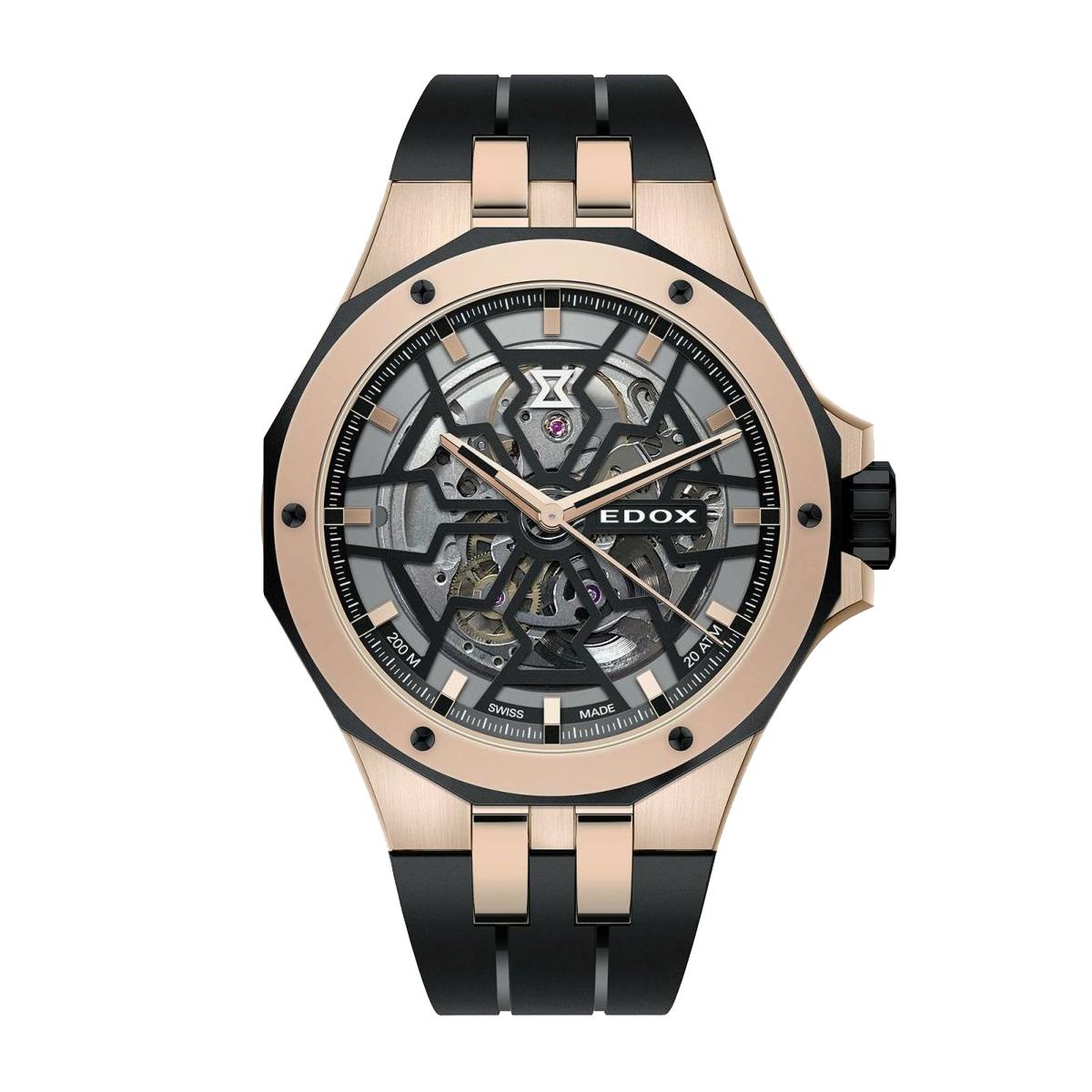 安心の定価販売 エドックス 海外正規品 送料無料 あす楽 EDOX DELFIN MECANO デルフィン オリジナル 時計 85303-357rn-nrn メカノ 機械式 腕時計 無料サンプルOK メンズ