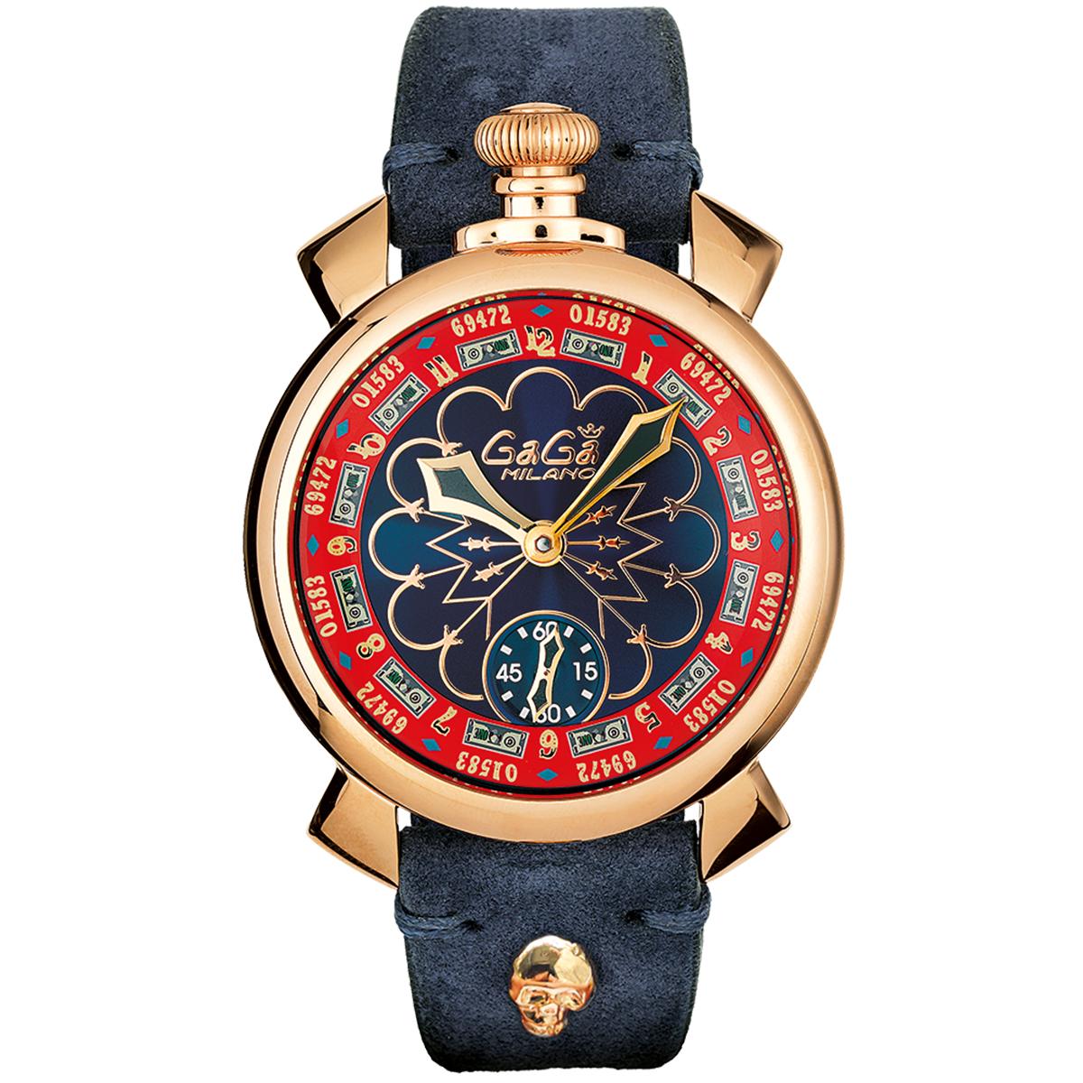 GAGA MILANO ガガ ミラノ 5011-LV-2 MANUALE  マヌアーレ ユニセックス 時計 腕時計[あす楽]