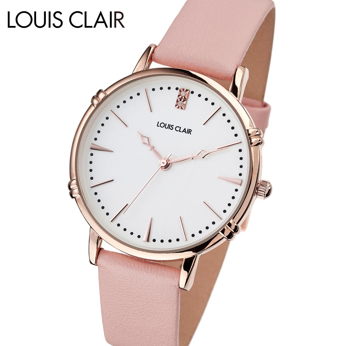【全品送料無料】 ルイクレール LOUIS CLAIR Rosiers ロジエ CL02-PL レディース 時計 腕時計 クオーツ