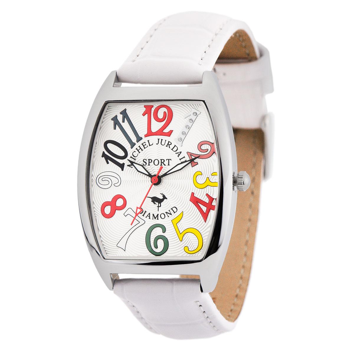 ミッシェル・ジョルダン MICHEL JURDAIN トノー型ダイヤモンド SG-1000-10 ユニセックス 時計 腕時計 クオーツ