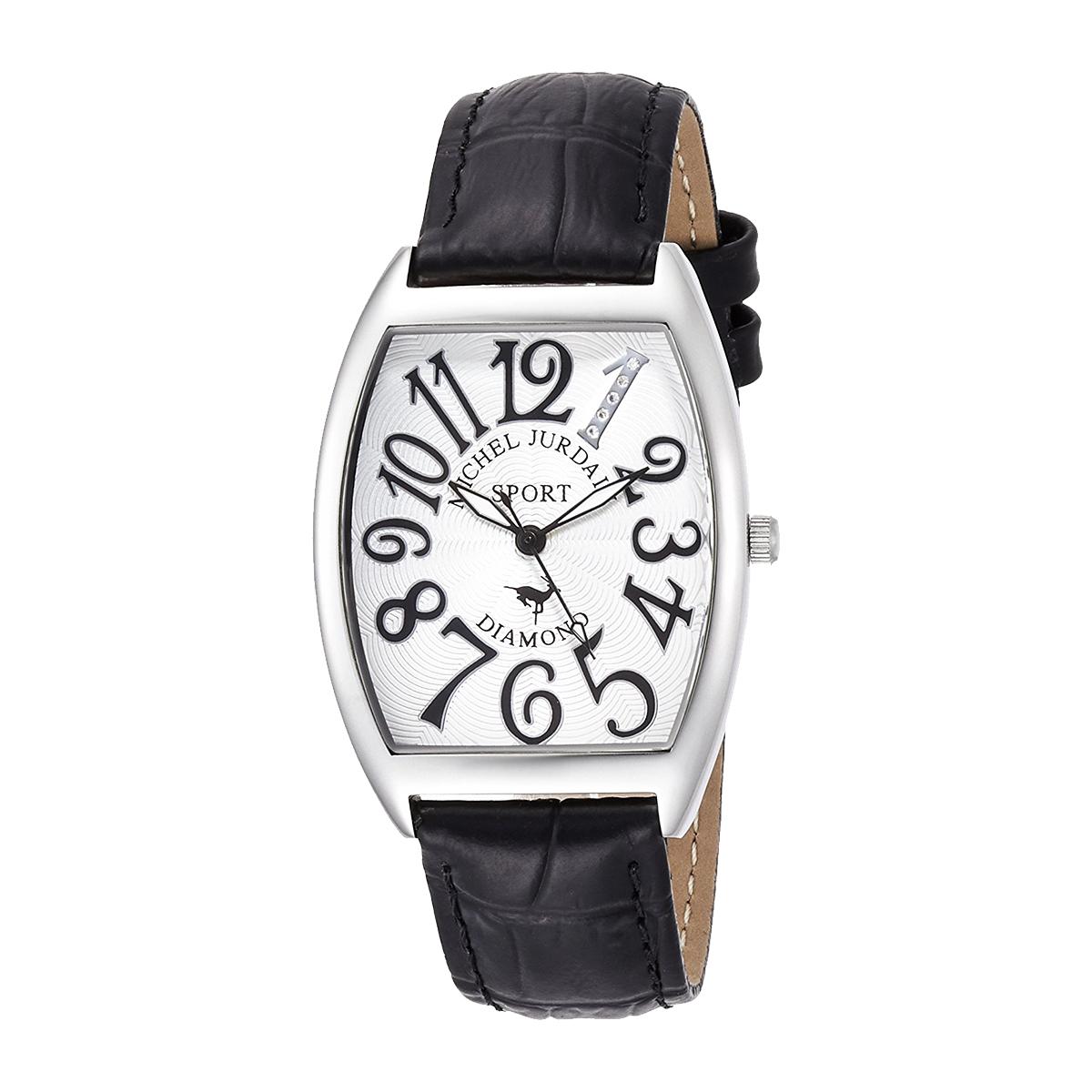 ミッシェル・ジョルダン MICHEL JURDAIN トノー型ダイヤモンド SG-1000-11 ユニセックス 時計 腕時計 クオーツ