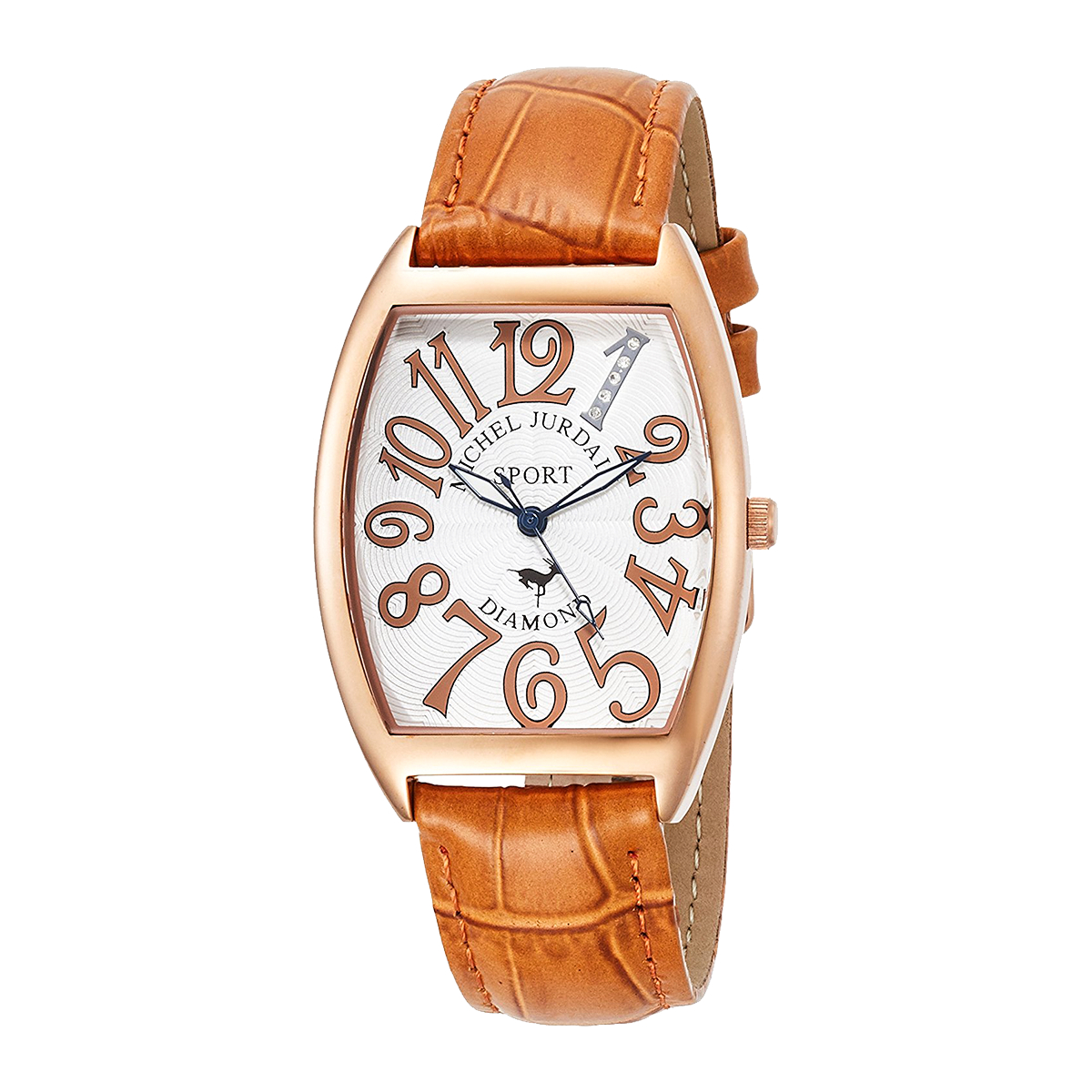 ミッシェル・ジョルダン MICHEL JURDAIN トノー型ダイヤモンド SG-1100-3 ユニセックス 時計 腕時計 クオーツ