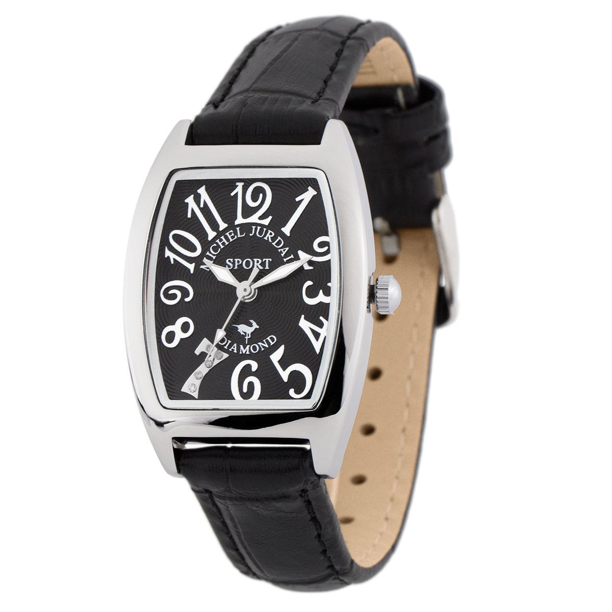 ミッシェル・ジョルダン MICHEL JURDAIN トノー型ダイヤモンド SL-1000-6 ユニセックス 時計 腕時計 クオーツ