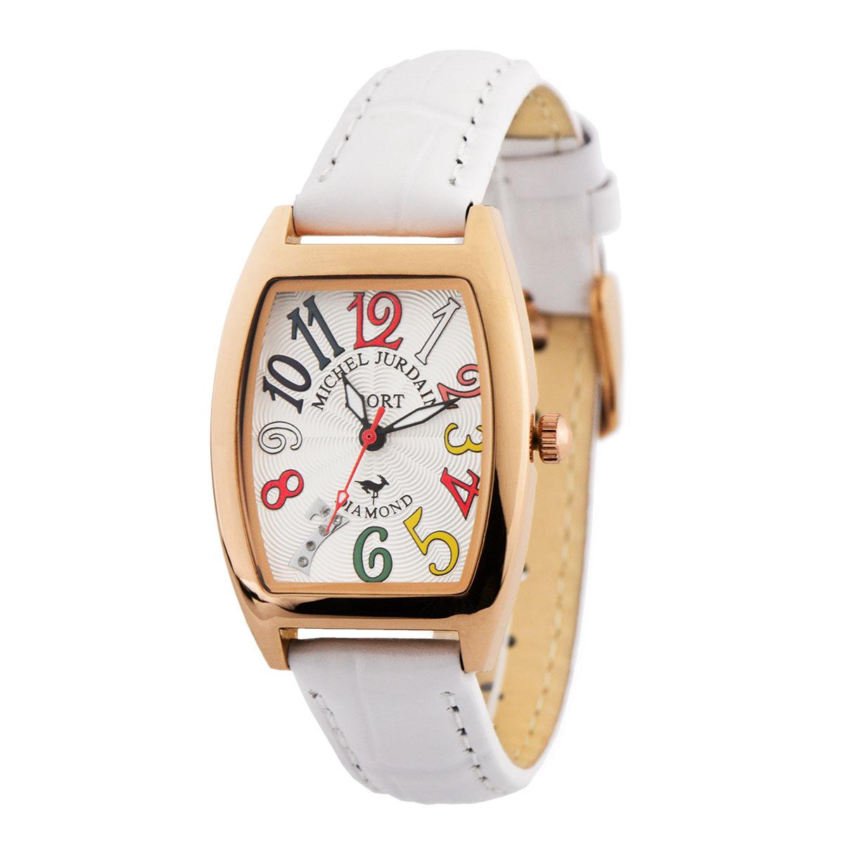 ミッシェル・ジョルダン MICHEL JURDAIN トノー型ダイヤモンド SL-1100-5 ユニセックス 時計 腕時計 クオーツ