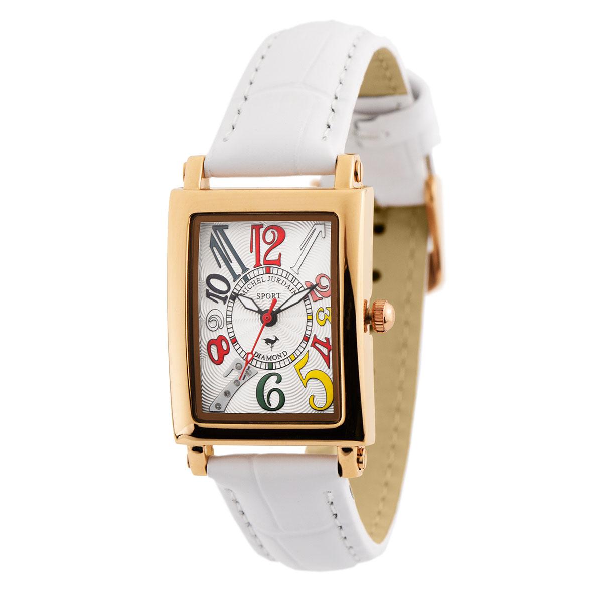 ミッシェル・ジョルダン MICHEL JURDAIN SPORTダイヤモンド SL-3000-6PG ユニセックス 時計 腕時計 クオーツ