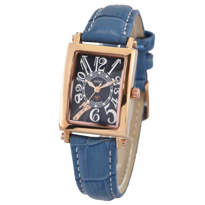 ミッシェル・ジョルダン MICHEL JURDAIN SPORTダイヤモンド SL-3000-8PG ユニセックス 時計 腕時計 クオーツ