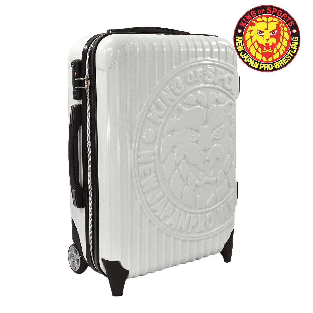 新日本プロレス キャリーケース 数量限定 スーツケース キャリーバッグ TSAロック 旅行用 キャリーバッグ 軽量 旅行バッグ トランク旅行カバン