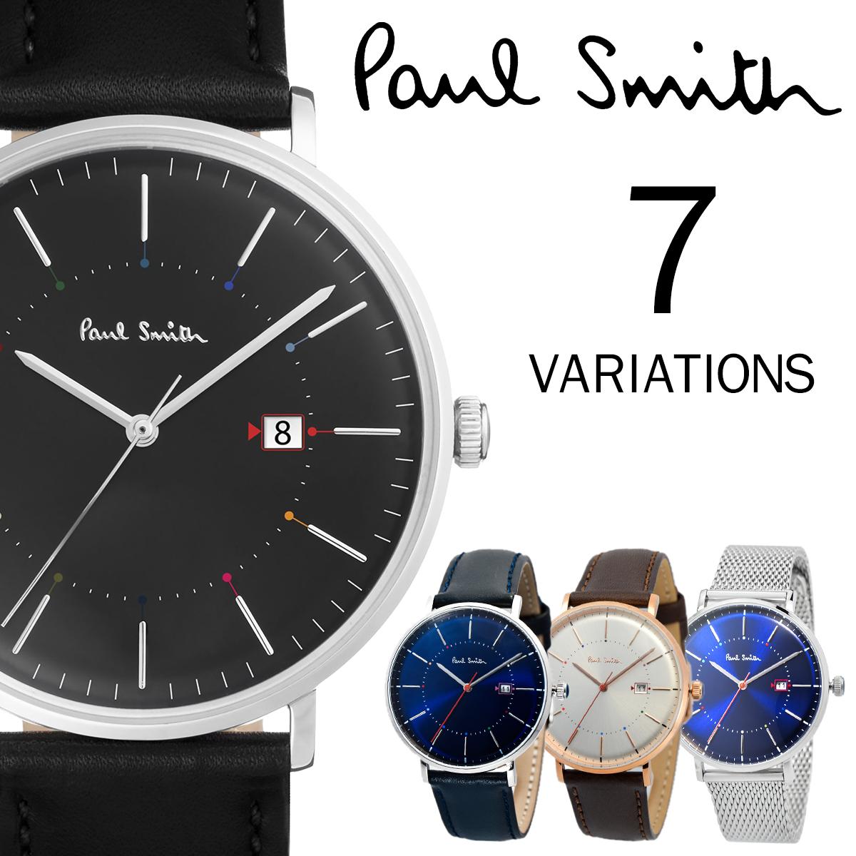 Paul Smith ポールスミス Track トラック 42mm メンズ 腕時計 レザー ウォッチ プレゼント 贈り物 記念日 ギフト [あす楽]