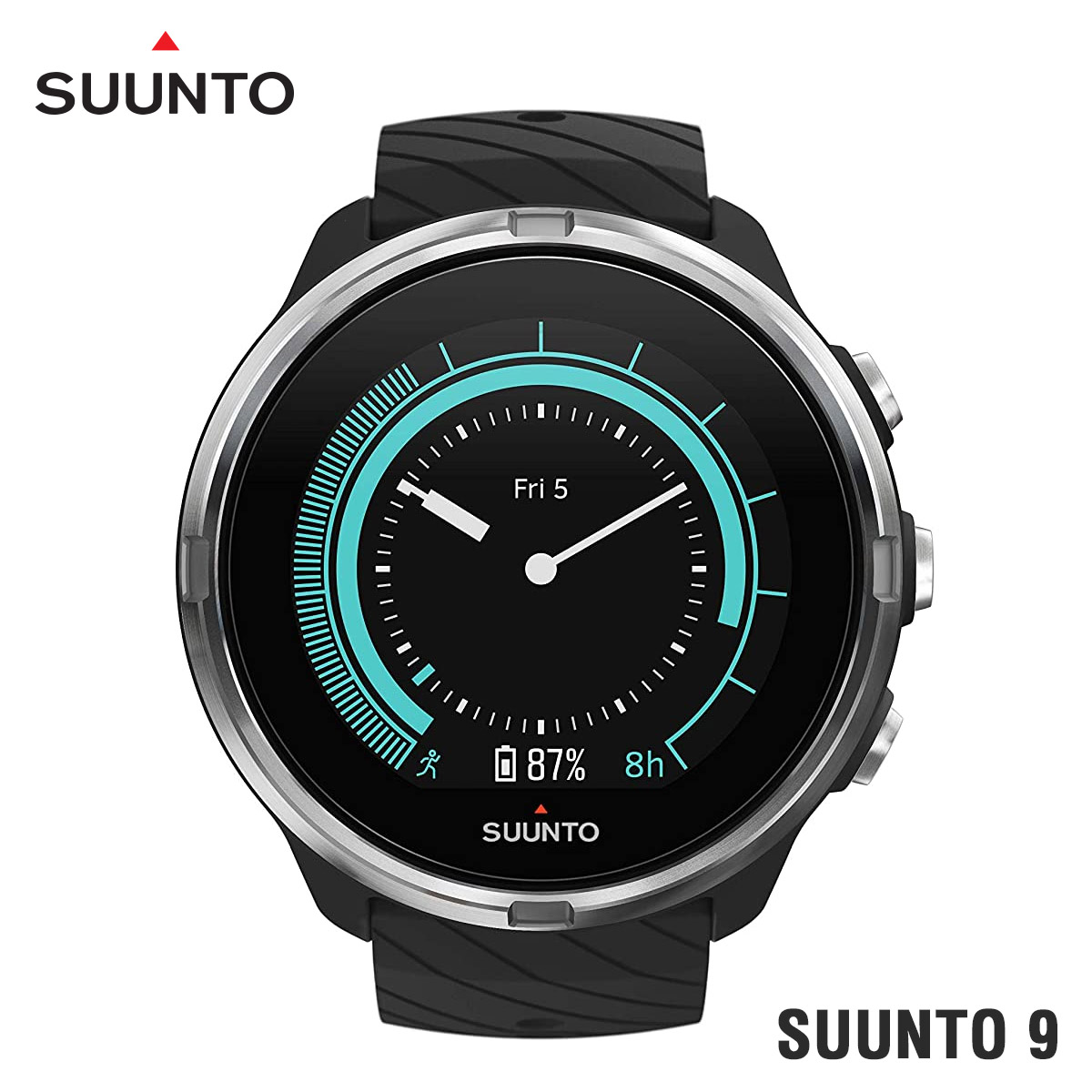【全品送料無料】Suunto 9 Black スマートウォッチ 腕時計 ss050142000