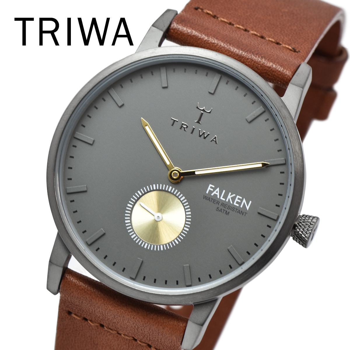 TRIWA トリワ FAST102-CL010213 WALTER FALKEN BROWN メンズ レディース ユニセックス 時計 腕時計 プレゼント 贈り物 ギフト 彼氏 フォーマル カジュアル ペアウォッチ 北欧 特価[あす楽]