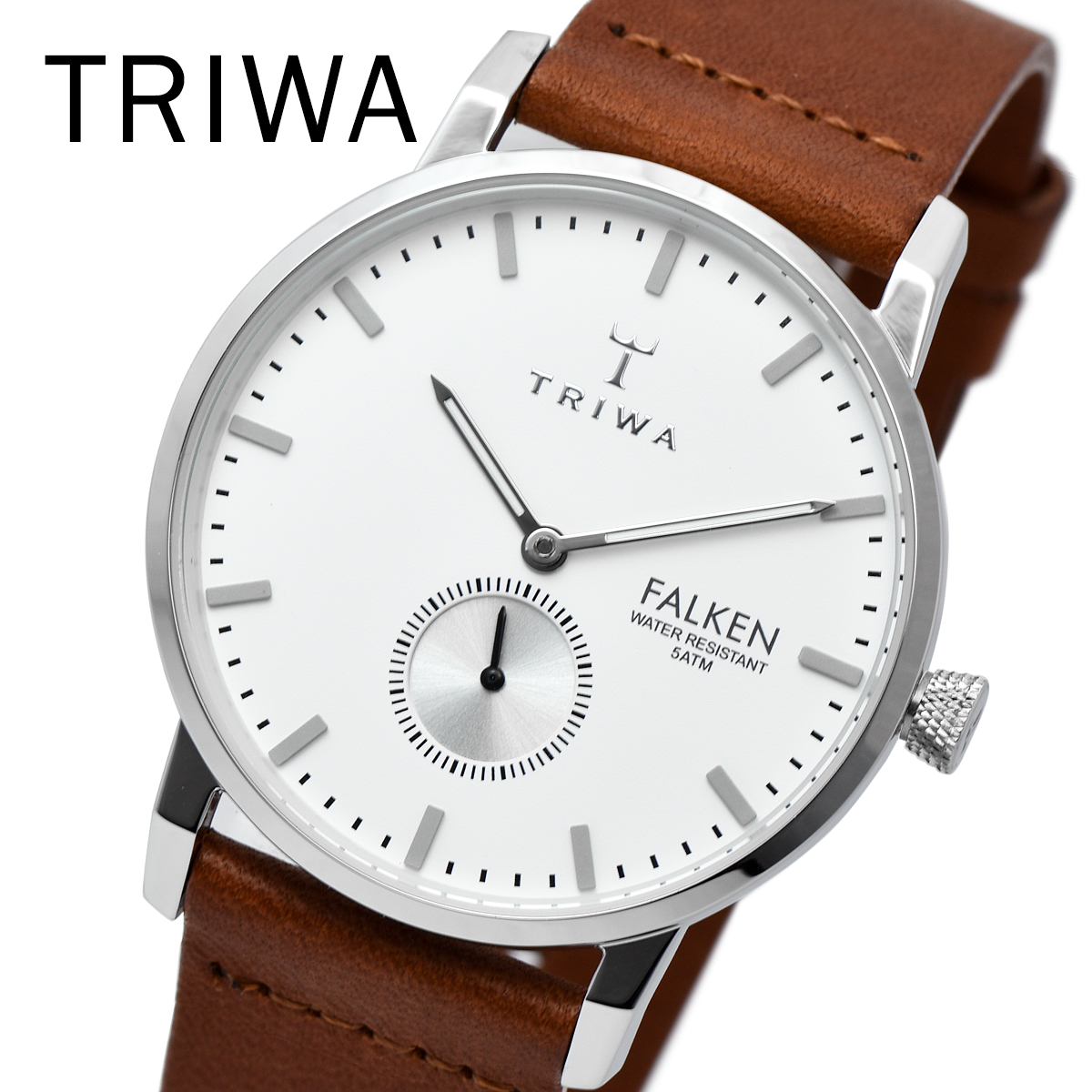 TRIWA トリワ FAST103 CL010212 WALTER FALKEN BROWN メンズ レディース ユニセックス 時計 腕時計 プレゼント 贈り物 ギフト 彼氏 フォーマル カジュアル ペアウォッチ 北欧[あす楽]