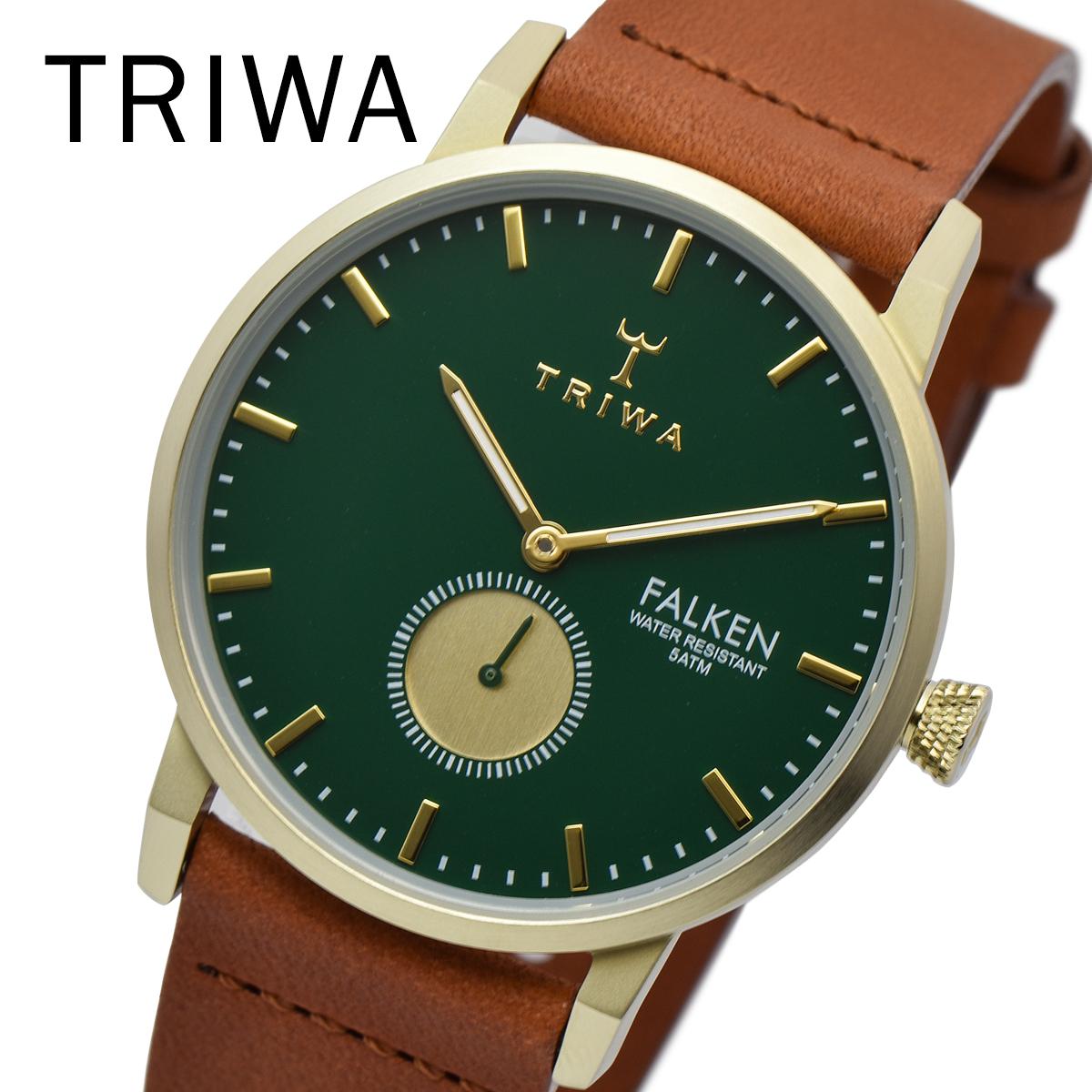【全品送料無料】 TRIWA トリワ FAST112-CL010217 PINE FALKEN メンズ レディース ユニセックス 時計 腕時計 プレゼント 贈り物 ギフト 彼氏 フォーマル カジュアル ペアウォッチ 北欧[あす楽]