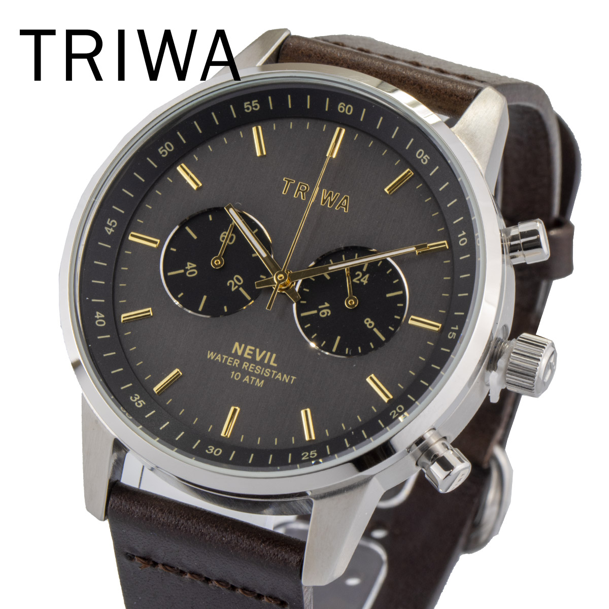 TRIWA トリワ NEST114 CL010412 SMOKY NEVIL メンズ レディース ユニセックス 時計 腕時計 プレゼント 贈り物 ギフト 彼氏 フォーマル カジュアル ペアウォッチ 北欧[あす楽]