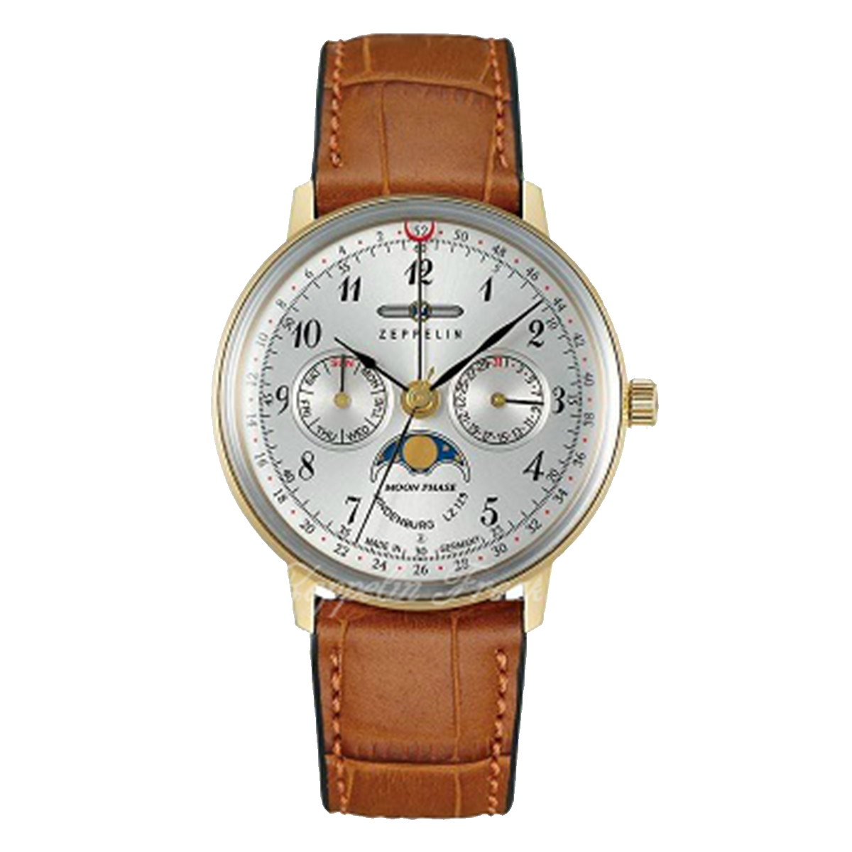 【全品送料無料】 ZEPPELIN ツェッペリン 7039-1 メンズ 時計 腕時計 プレゼント ギフト 贈り物[あす楽]