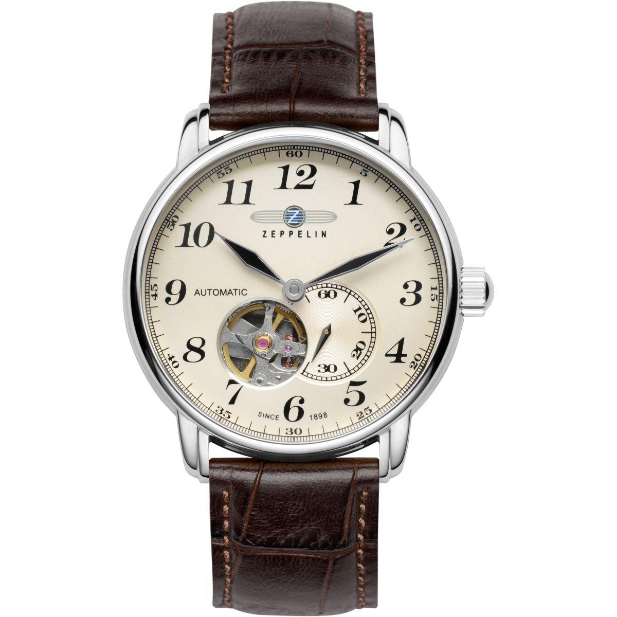 【全品送料無料】 ZEPPELIN ツェッペリン 7666-5 メンズ 時計 腕時計 プレゼント ギフト 贈り物 オープンハート[あす楽]