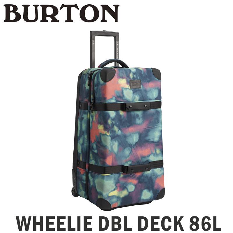 バートン ソフトキャリー BURTON WHEELIE DBL DECK ウィーリー ダブル デッキ 86L トラベルバッグ 旅行 キャリーバッグ