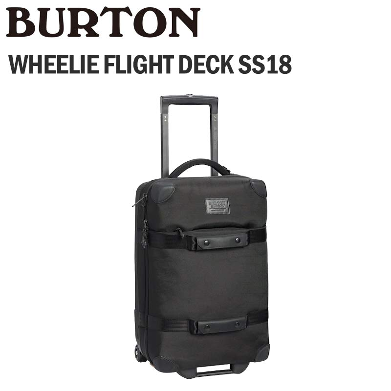 BURTON バートン キャリー WHEELIE FLIGHT DECK SS18 40L