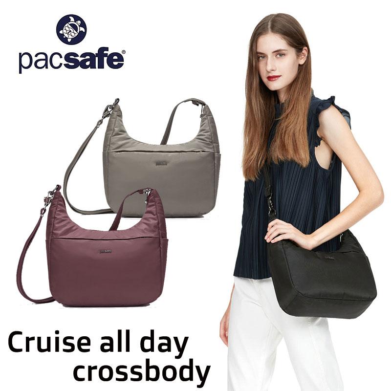 パックセーフ ショルダーバッグ CR all day crossbody クルーズオールデイ クロスボディ ボディーバッグ 防犯機能 盗難防止 セキュリティ機能 海外旅行 12970298 pacsafe