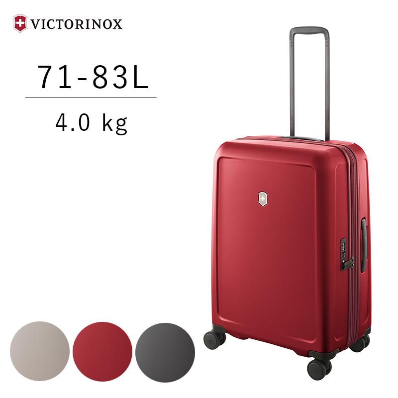 ビクトリノックス VICTRINOX コネックス Connex スーツケース ミディアム ハードサイドケース 605667 605668 605669 エキスパンダブル(拡張機能) USBポート SIMカード交換ツール IDタグ TSAロック 海外旅行