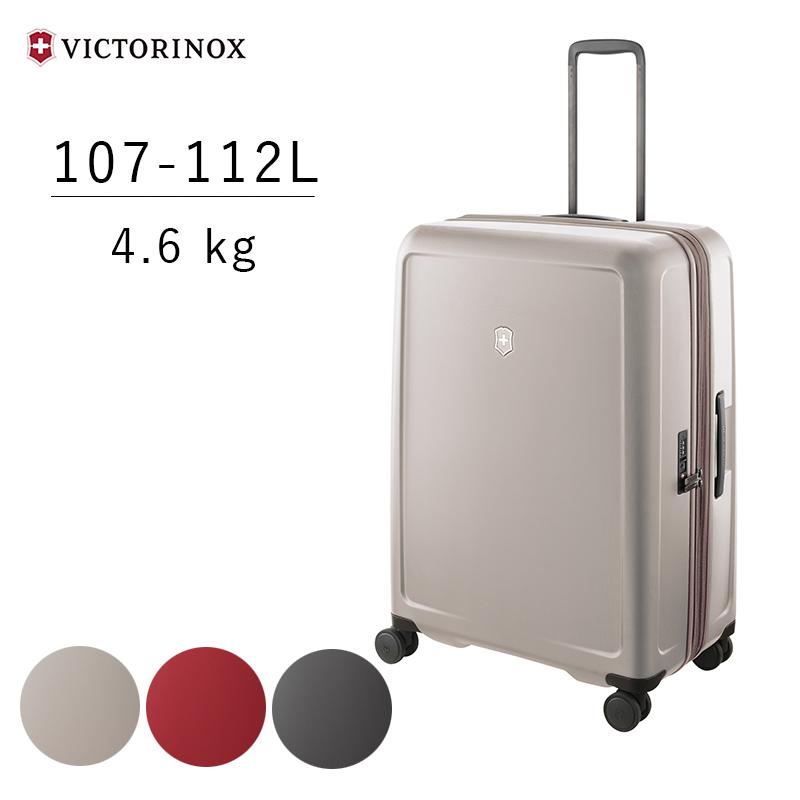 ビクトリノックス VICTRINOX コネックス Connex スーツケース ラージ ハードサイドケース 605671 605672 605673 エキスパンダブル(拡張機能) USBポート SIMカード交換ツール IDタグ TSAロック 海外旅行 長期旅行