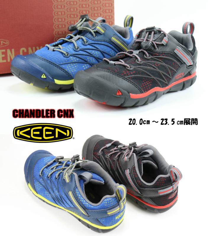 KEEN CHANDLER CNX 1019857 1019859 キーン チャンドラー 正規品 ジュニアスニーカー 子供靴 アクアシューズ アウトドア 黒 青 男の子靴 検索  サーチ ランキング 広告 通販 20cm 21cm 22cm 22.5cm 23.5cm