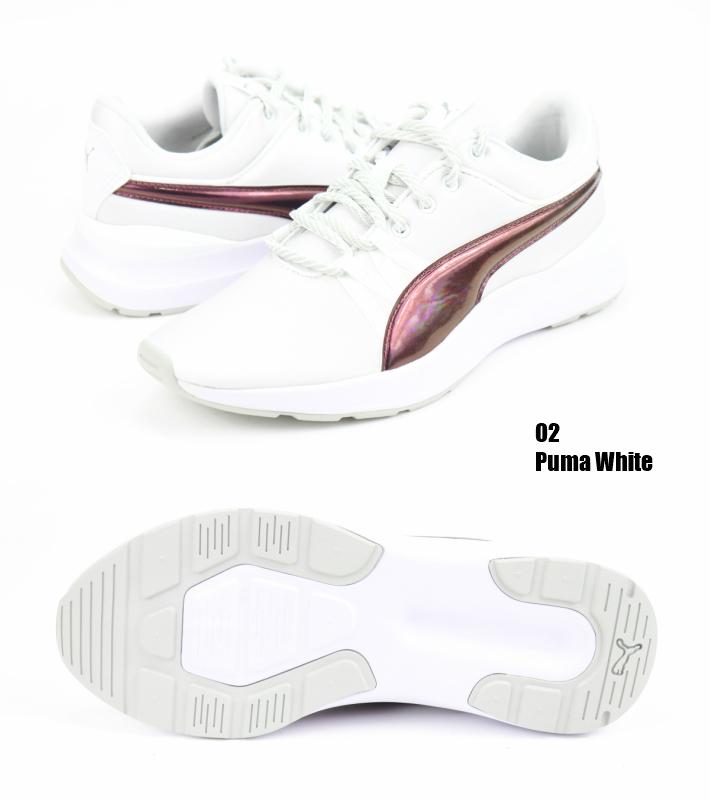 PUMA Adela Trailblazer Q2 369142 01 02 regular article プーマアデラトレイルブレーザー BLACK WHITE Lady's sneakers running shoes walking shoes fitness shoes Rakuten