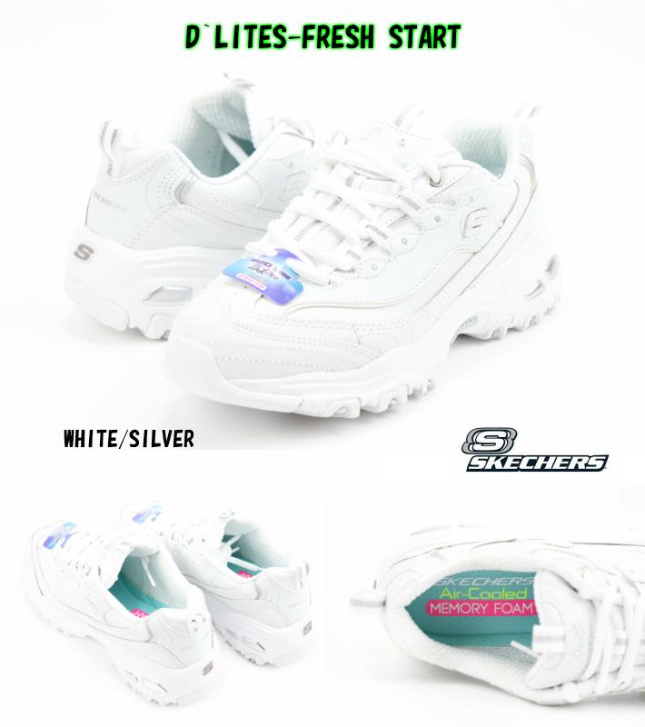 D´LITES FRESH START WHITE SILVER