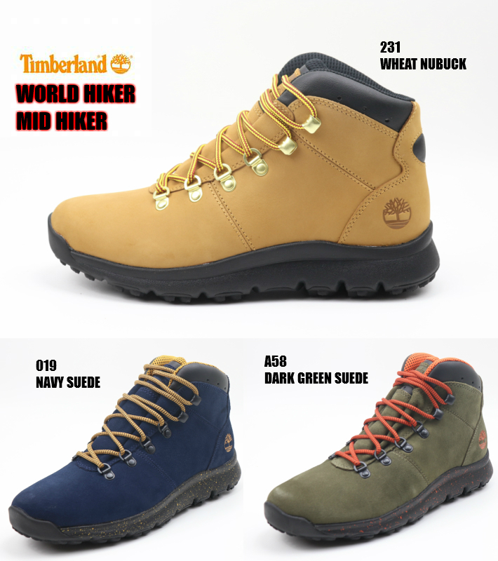 Timberland WORLD HIKER MID HIKER OA2169-231 OA2177-019 OA216K-A58 正規品 ティンバーランド メンズスニーカー 男性靴 ミッドカット 検索 市場 サーチ ランキング 広告 通販 2019年モデル NEW