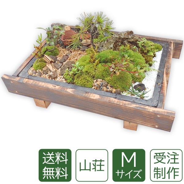 【母の日】盆栽 盆景 ミニ庭園 山荘M 【送料無料】