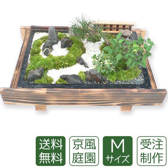 【母の日】盆栽 盆景 ミニ庭園 京風庭園M 【送料無料】