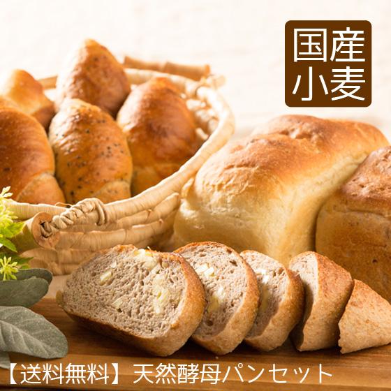 桑の実天然酵母 国産小麦 パン ストア 安売り 天然酵母パンセット 送料無料 ギフト 誕生日プレゼント