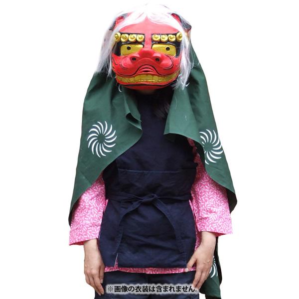 送料無料 獅子舞セット かぶりもの オガワスタジオ 和風マスク
