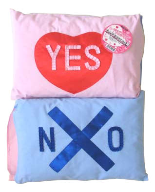 Mini ラブピロー 2個セット (LOVE PILLOW) パーティーグッズパーティーグッズ おもしろ カップル ギフト パーティーグッズ 誕生日 宴会 景品 結婚祝い ギフト 景品 プレゼント