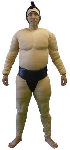 送料無料 相撲スーツ(黒) 相撲 全身タイツ 全身タイツ すもう 相撲 衣装