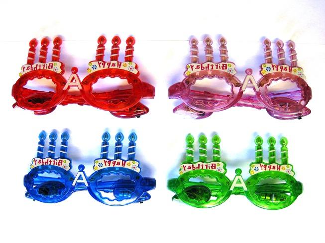お誕生日 ギフト パーティー バースディー 価格 交渉 送料無料 気質アップ ハッピーバースデーミュージックグラス 光りもの 誕生日 盛り上げ 盛り上げグッズ めがね メガネ LED