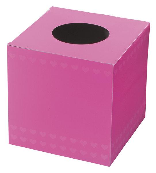国内在庫 パーティーグッズ 盛り上げ 抽選会 格安 価格でご提供いたします メール便対応1個 ピンクの抽選箱 ピンク 罰ゲーム イベント くじ 二次会 抽選箱