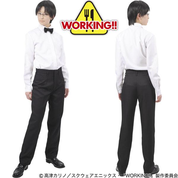 ワグナリア ウェイター制服 ファミレスアニメ WORKING