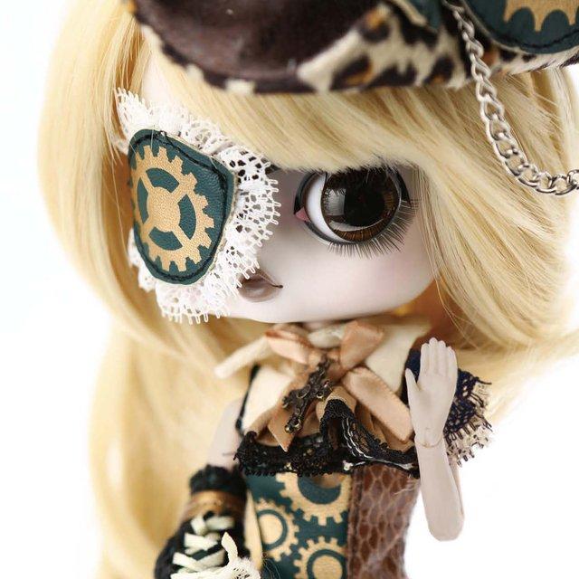 送料無料 ビョル Moirai(モイライ) ビョル ドール グルーヴ プーリップ テヤン スチームパンク コスプレ 着せ替え人形