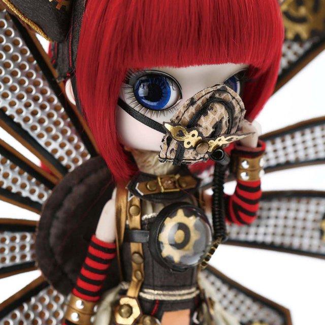 送料無料 ダル Icarus(イカロス) プーリップ テヤン スチームパンク コスプレ 着せ替え人形