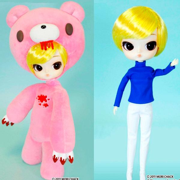 送料無料 ダル GLOOMY(グル~ミ~) プーリップ テヤン ドール 着せ替え人形